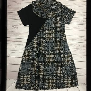 NEW FOR SCHOOL! Comfy Vintage Inspired Knit Dress